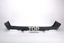 Юбка на задний бампер - Обвес Model Z - Тюнинг Range Rover Vogue (рестайлинг)