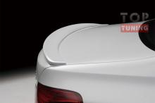 Тюнинг БМВ 5 Ф10 - Спойлер крышки багажника обвеса Black line.