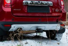 Тюнинг Рено Дастер - Комплект защитных накладок на бампера
