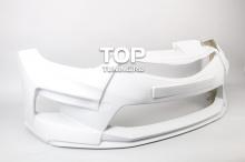 Передний бампер - Модель M&S - Тюнинг Хендай Элантра 5 (Аванте МД)