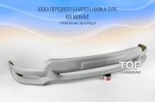 4859 Юбка переднего бампера IXION A-type на Kia Mohave
