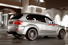 4902 Тюнинг - Обвес G-Power Typhoon на BMW X5 E70
