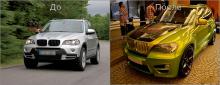 4907 Тюнинг - Обвес LMA CLR X530 на BMW X5 E70