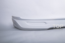 Накладка на передний бампер - Обвес Иксион - Тюнинг Хендай Гранд Старекс