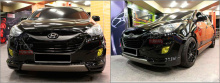 Тюнинг Хендай ix35 - Аэродинамический обвес Sonic Auto