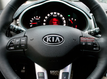 Тюнинг Kia Sportage 3 - Руль с системой подогрева.3