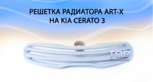 Решетка радиатора без эмблемы - Art-X на Kia Cerato 3