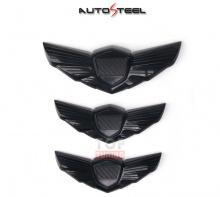 Стайлинг эмблемы в стиле черный карбон AutoSteel