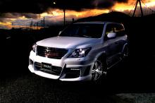 Тюнинг Лексус LX570 (дорестайлинг) - Аэродинамический обвес WALD Black Bison Edition