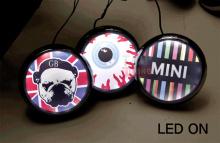 Тюнинг - Оптики для Мини Купер - дополнительные декоративные фары дневного света DLS.