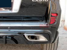 Тюнинг Лексус LX570 (рестайлинг) - Аэродинамический обвес WALD Black Bison.