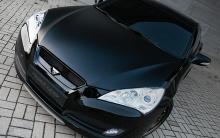 Оригинальная решетка радиатора - Тюнинг Hyundai Genesis Coupe, от производителя RoadRuns (Корея).