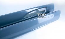 Накладки на пороги Обвес Je Design тюнинг VW Touareg I