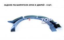 Купить расширители арок - Обвес Je Design - Тюнинг Фольксваген Туарег 1