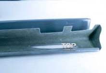 Накладки на пороги Обвес Je Design - тюнинг VW Touareg I