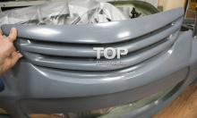 4978 Решетка радиатора Panther (ASC Magnum) на Mazda 3 BK