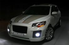 Тюнинг Hyundai Santa Fe 2 (дорестайлинг) - Передний Bliss Razor.