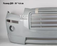 Передний бампер - обвес БЛИСС Рэйзор  Тюнинг Hyundai Santa Fe 2 (дорестайлинг)