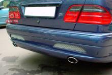 Тюнинг Мерседес W210 - Задний бампер обвеса Lorinser.