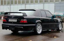 Тюнинг Мерседес W124 - Аэродинамический обвес Baron.