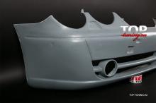 5004 Передний бампер Lorinser F1 на Mercedes CL-Class W215