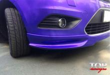 5016 Юбка переднего бампера Lord рестайлинг на Ford Focus 2