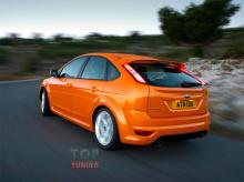Тюнинг Форд Фокус 2 - Накладки на пороги ST.