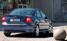 Тюнинг Форд Фокус 2 (4D) - Аэродинамический обвес MS.