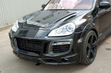 Передний бампер обвеса Мансори Ринспиид X-Treme Тюнинг Porsche Cayenne 957