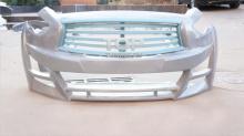 Передний бампер с установленной решеткой Обвес ЛОРИНЗЕР - Тюнинг Инфинити С51 (Infiniti QX70) рестайлинг.