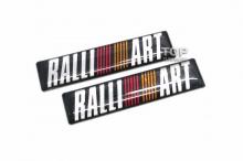 5050 Эмблемы наклейки RalliArt 60х14 2 шт. на Mitsubishi