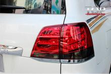 5070 Задние фонари Lexus LX 570 13+ Style на Toyota Land Cruiser 200