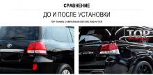 ЗАДНИЕ СВЕТОДИОДНЫЕ ФОНАРИ ЛЕКСУС 570 СТИЛЬ - ТЮНИНГ ТОЙОТА ЛЕНД КРУЗЕР 200 (2007-2015)