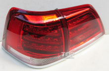 Альтернативная задняя оптика на Toyota Land Cruiser 200LX Style