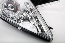 5074 Передние фары Spyder Chrome на Toyota Celica T23