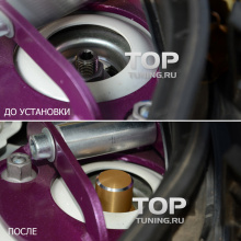 Оригинальные колпачки-гайки на стойки передних амортизаторов - Стайлинг Mazda CX-5 - модель Epic (4 цвета).