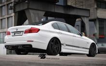5090 Накладки на пороги Prior Design R на BMW 5 F10