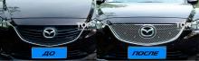 Тюнинг Мазда 6 - Декоративная решетка радиатора Бентли Стиль