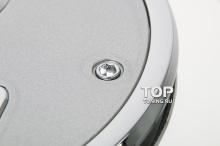 5122 Декоративная накладка на лючок бензобака Epic 3D на Mazda 6 GJ