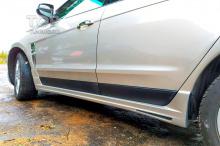 Тюнинг Кадиллак SRX 2 - Накладки на пороги MZ Speed ZEUS на Cadillac SRX 2