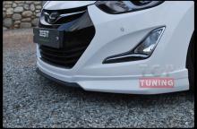 Тюнинг Хендай Элантра 5(Аванте МД) рестайлинг - Накладка на передний бампер Zest.
