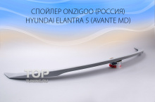 5150 Спойлер Onzigoo на Hyundai Elantra 5 (Avante MD)