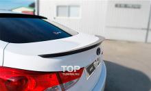 Тюнинг Хендай Элантра (Аванте МД) - спойлер на крышку багажника M&S Design.