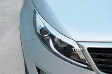 Тюнинг Киа Спортейдж 3 - Накладки на переднюю оптику M&S.