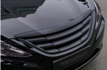 Решетка радиатора без значка для Hyundai Sonata YF (6-ого поколения), стиль Road Runs.