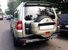 Тюнинг Митсубиси Паджеро - Спойлер на крышку багажника Lans.