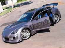Наклейки на авто - полный набор Greddy Light для Mazda RX-8.
