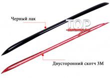 Накладка на передний бампер Guardian Black - Тюнинг МАЗДА 6 GJ