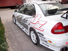 Набор наклеек на кузов автомобиля  - полный набор  Bozz Speed.