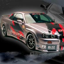 Наборнаклеек на кузов автомобиля - Blitz Power